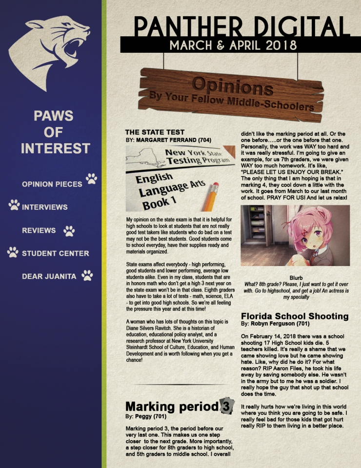 March April News Page 1